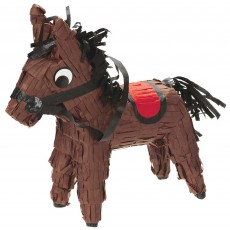 Cowboy & Western Mini Horse Pinata Misc Decoration