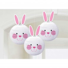 Easter Bunny Shaped Lanterns