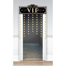Glitz & Glam Party Decorations - Door Decoration V.I.P.