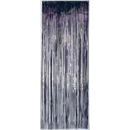 Black Metallic Curtain Door Decoration 2.4m x 91cm
