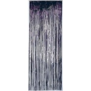 Black Metallic Curtain Door Decoration