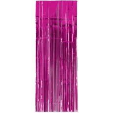 Pink Bright Metallic Curtain Door Decoration