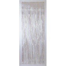 Iridescent Metallic Curtain Door Decoration