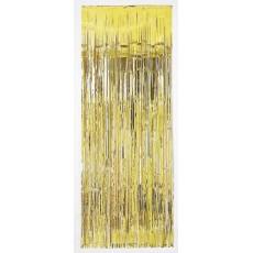 Gold Metallic Curtain Door Decoration 2.4m x 91cm