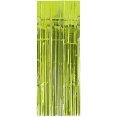 Green Kiwi Metallic Curtain Door Decoration