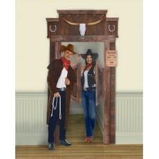 Cowboy & Western Deluxe Saloon Door Decoration 1.3m x 2.3m