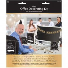 Happy Birthday Sparkling Celebration Office Mini Decorating Kit