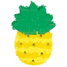 Hawaiian Party Decorations Mini Pineapple Pinata Decoration & Gems