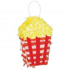 Disney Mickey Carnival Party Decorations - Mini Pinata Popcorn Box