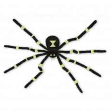 Halloween Glow in the Dark Spider Hanging Decoration