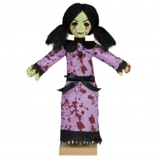 Halloween Creepy Girl Mini Prop Misc Decoration