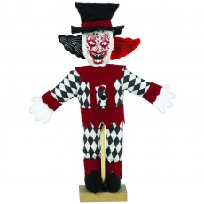 Halloween Party Supplies - Misc Decorations - Haunted Clown Mini Prop