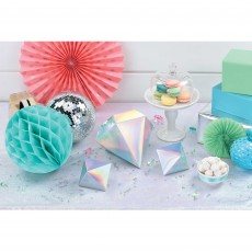 Iridescent Party Decorations - Shimmering Party 3D Table
