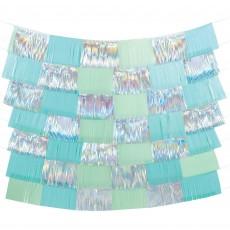 Iridescent Shimmering Party Fringe Decorating Backdrop Scene Setters 152.4cm Pack of 9