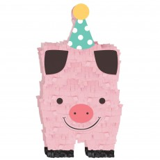 Barnyard Mini Pig Misc Decoration