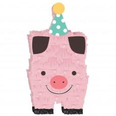 Barnyard Party Decorations - Mini Pig