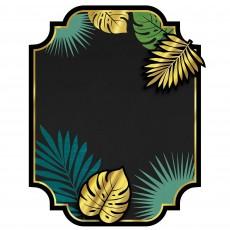 Key West Party Decorations - Chalkboard Menu Easel