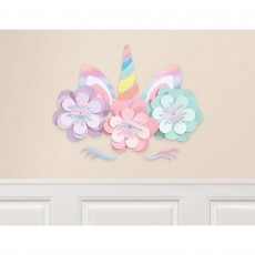 Magical Rainbow Party Decorations - Wall Decorations Unicorn