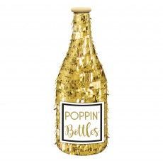 Gold Party Decorations - Cocktail Party Mini Gold Bottle