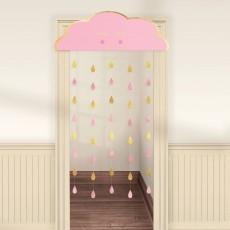 Oh Baby Girl Door Decoration 98cm x 1.92m