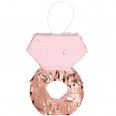 Bridal Shower Party Decorations - Blush Wedding Ring Mini