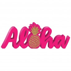 Hawaiian Party Decorations Standing Word Sign Misc Decoration