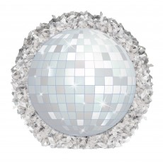 Disco & 70's Good Vibes Mini Disco Ball Misc Decoration