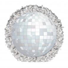 Disco & 70's Party Decorations - Good Vibes Mini Disco Ball
