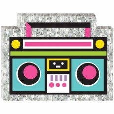 Awesome 80's Party Decorations - Mini Boom Box