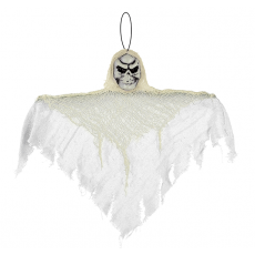 Halloween Party Supplies - Hanging Decoration Small White Reaper Prop