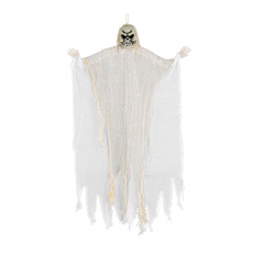 Halloween Medium White Reaper Prop Hanging Decoration
