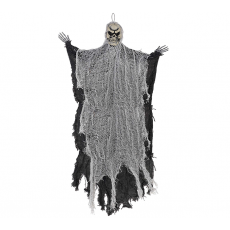 Halloween Medium Black Reaper Prop Hanging Decoration
