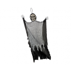 Halloween Large Black Reaper Prop Hanging Decoration