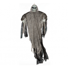 Halloween Black Life Size Reaper Hanging Decoration