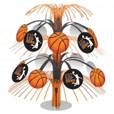 Basketball Fan Nothin' But Net Basketball Cascade Centrepiece 35cm