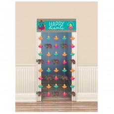 Diwali Curtain Door Decoration 99cm x 1.95m