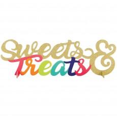 Sweets & Treats Centrepiece 10cm x 35cm