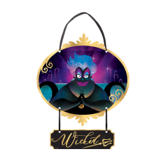 Disney Villains Mini Sign Hanging Decoration
