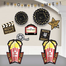 Glitz & Glam Party Decorations - Decorating Kits Movie Night Room