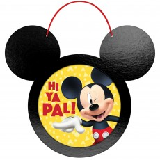 Mickey Mouse Party Decorations - Wall Decorations Forever Wall Frame