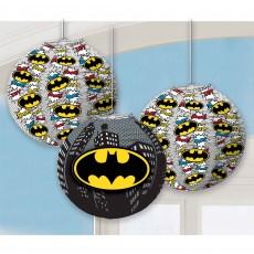 Batman Party Decorations - Lanterns Heroes Unite Paper