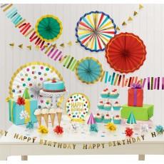 Dots Party Decorations - Decorating Kits Happy Dots Room