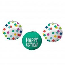 Dots Party Decorations - Lanterns Happy Dots