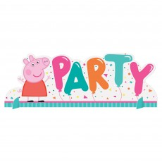 Peppa Pig Confetti Party Centrepiece