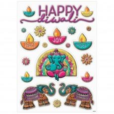 Diwali Party Decorations - Window