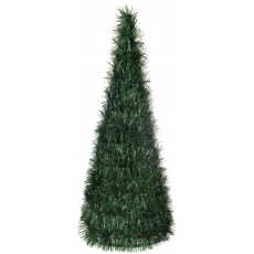 Christmas Party Decorations - Centrepiece L Tinsel Pine Look Tree