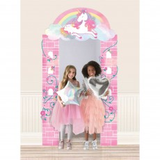 Magical Unicorn Party Decorations - Door Decoration Enchanted Unicorn