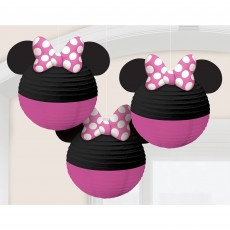 Minnie Mouse Party Decorations - Lanterns Forever Paper