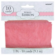 Pink New  Wired Ribbon