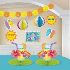 Hawaiian Party Decorations Fun In The Sun Decorating Kits